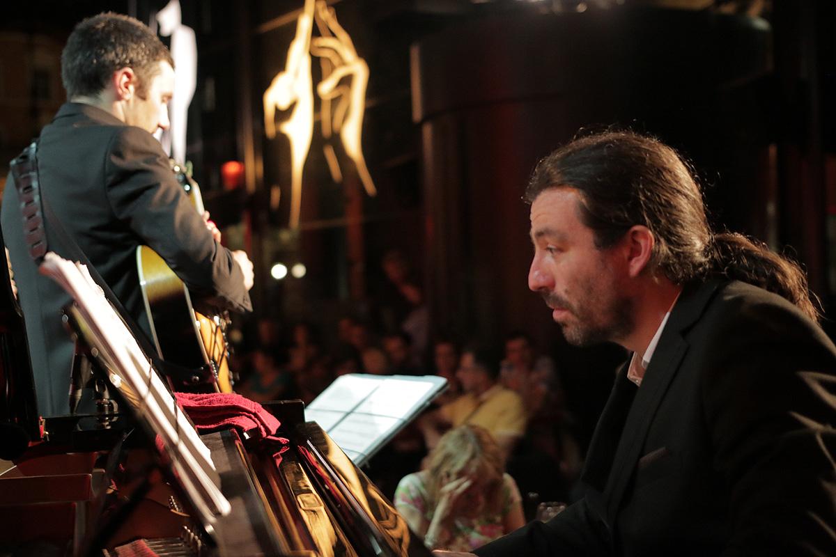 Uptown Quintet, orchestre de jazz à Lyon, Péristyle de l'opéra