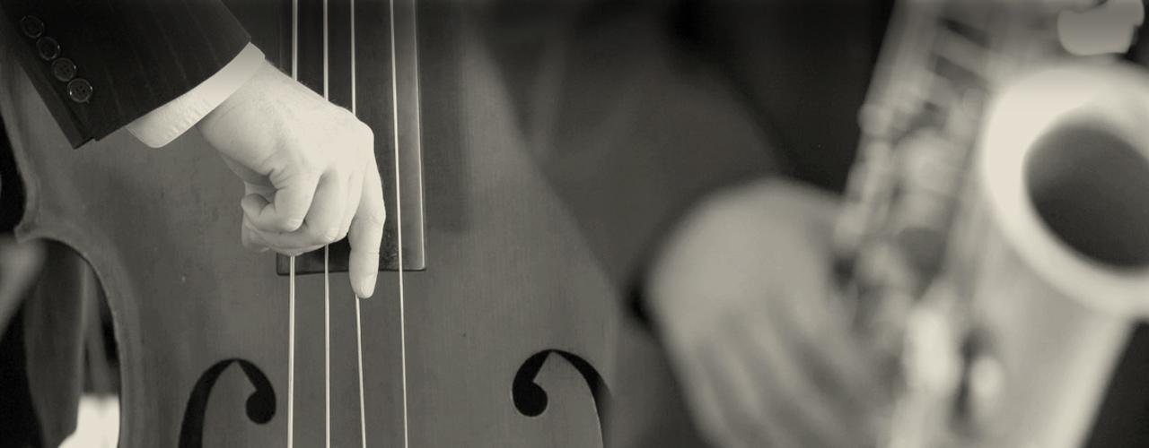 contrebasse saxo jazzy