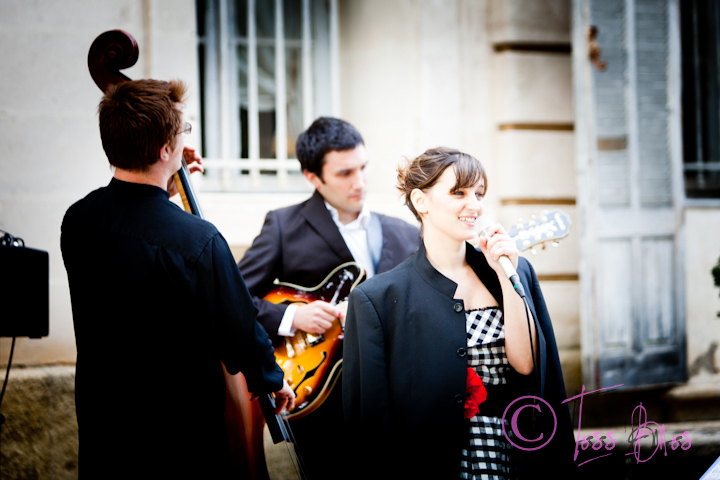 Circle Trio, chanteuse jazz pour mariage vers Avignon