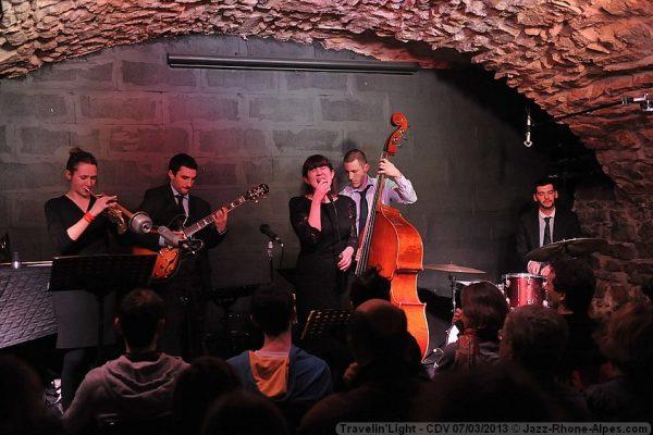 orchestre avec chanteuse jazz a la clef de voute a Lyon, concerts et animation mariage, vind'honneur et cocktail