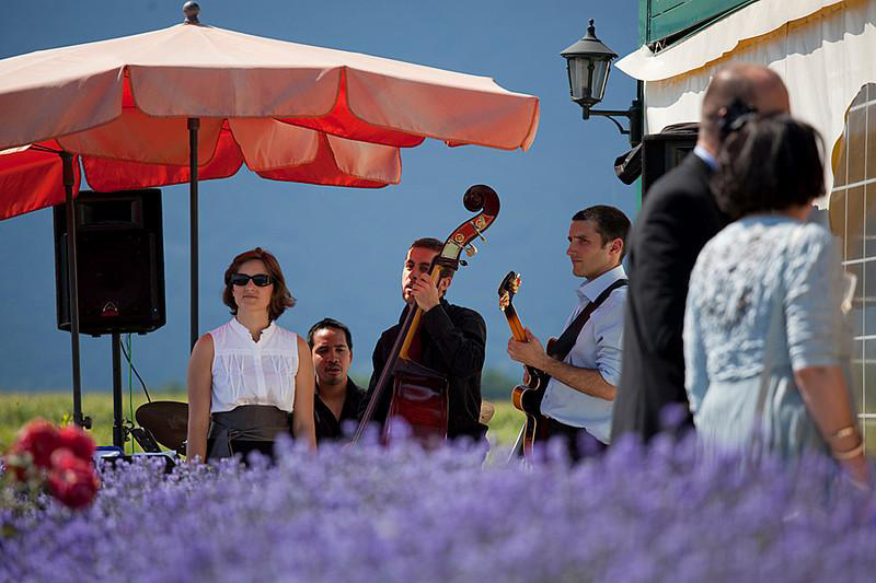 Chanteuse de jazz mariage à Genève, Suisse Romande