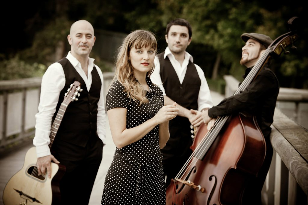 Chanteuse jazz à Lyon et orchestre musique d'ambiance jazz manouche à Lyon