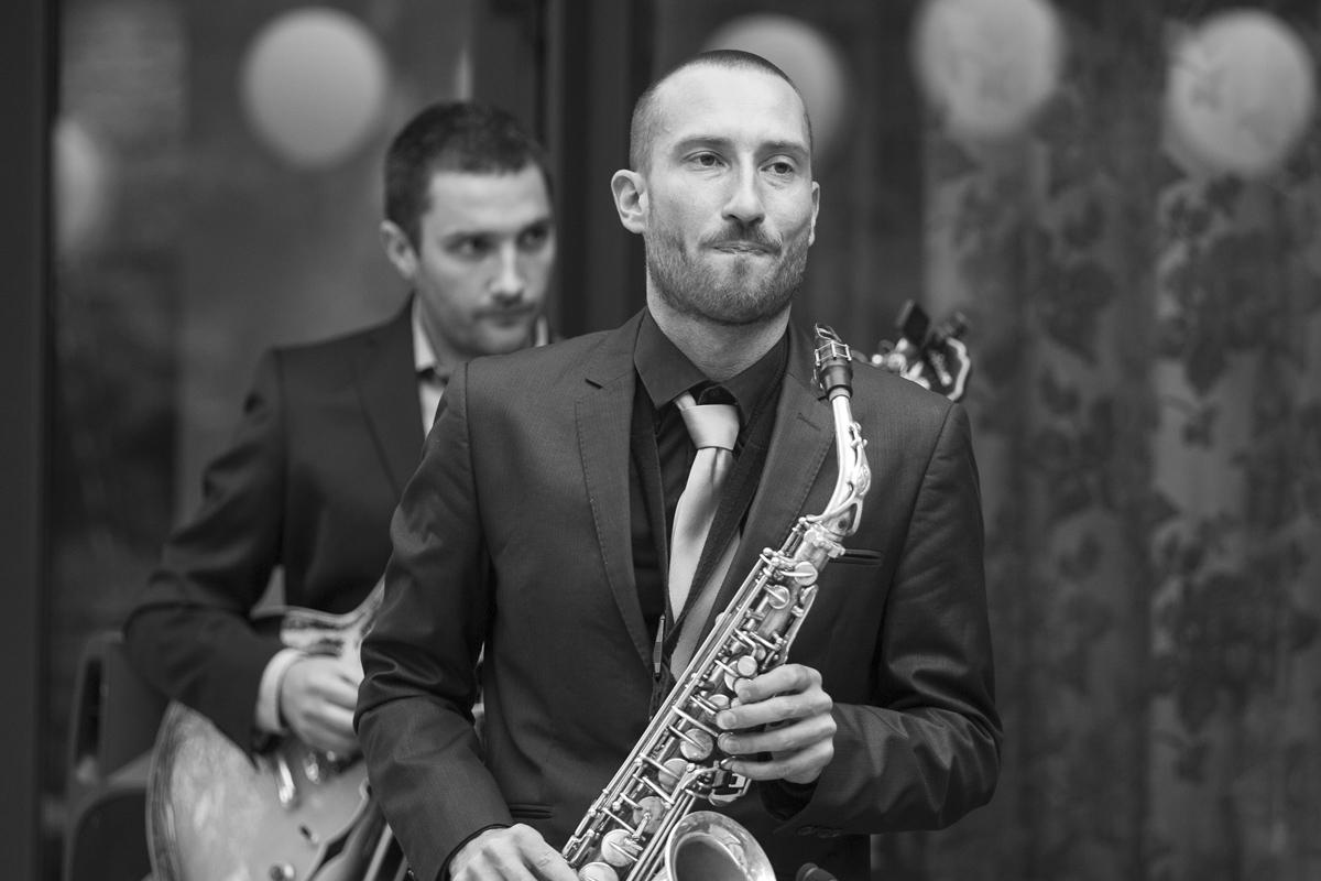 Orchestre jazz Lyon : mariage, soirée privée, ambiance cocktail