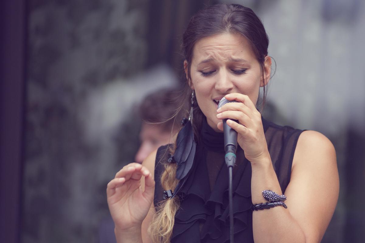 Chanteuse de jazz, animation mariage à Lyon