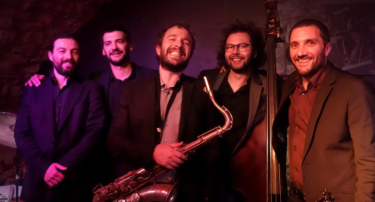 Uptown Quintet, orchestre jazz à Lyon en club