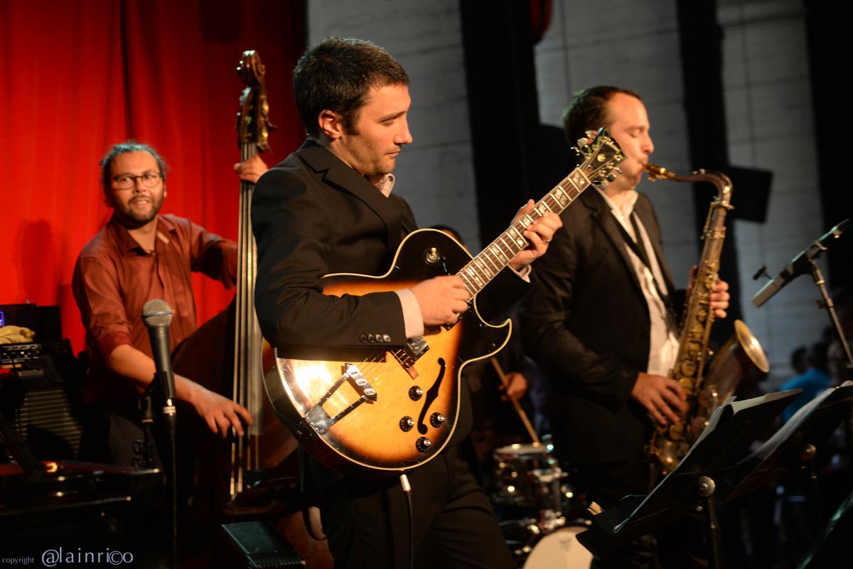Uptown Trio, Orchestre jazz à Lyon, bonne ambiance au concert au Péristyle à Lyon