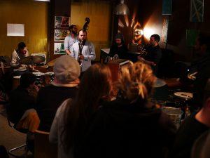 Groupe de jazz à l'Obamo Café à Lyon
