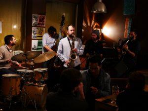 Groupe de jazz à Lyon, concert à l'Obamo