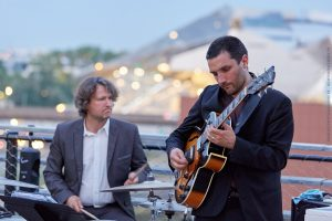 Jazz trio, swing & groove, au Rooftop à Lyon