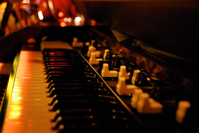 Hammond Organ Jazz Trio pour jazz clubs, ambiance smooth et vintage