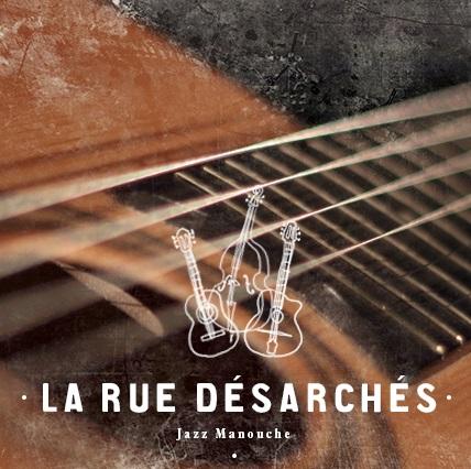 La Rue Désatchés, groupe de swing manouche à Lyon, duo trio quartet, guitare swing, contrebasse, violon, accordéon