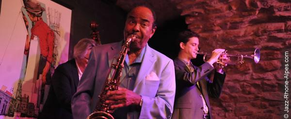 Benny Golson à La Clef de Voute à Lyon
