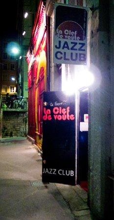 La Clef de Voute club de jazz à Lyon