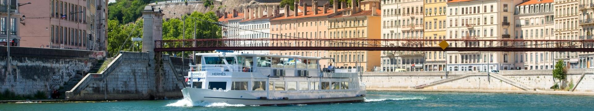 l'Hermès, croisière restaurant des bateaux lyonnais sur la Saône