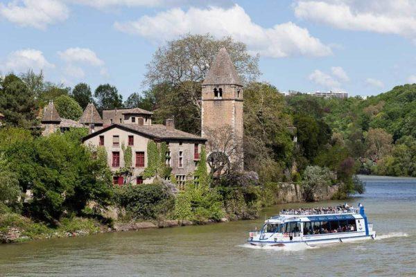bateau Navilys, croisière promenade sur la Saône