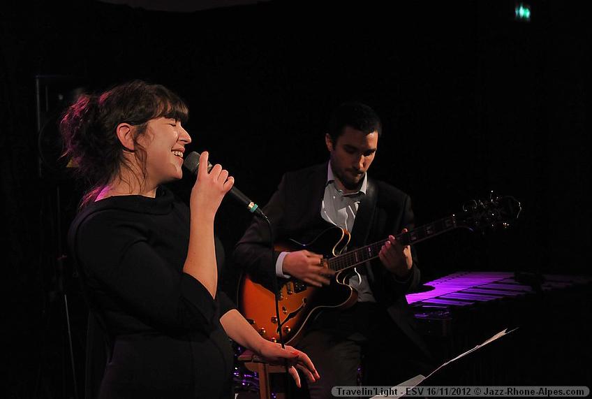 Duo chanteuse jazz et guitariste, diner concert jazz à Vienne